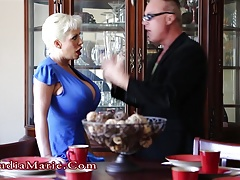 Huge Tits Claudia Marie  & Impregnated By Stepson