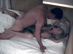 Tall Guy Fucks Athletic Blondie with Big Tits