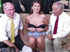 Ivy Rose gets fucked by old grandfather