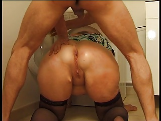 Fat Milf Can With A Rough Anal Fuck