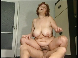 Big Boob Granny Mathilda Gets The brush Floccus Thatch Pounded