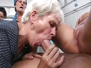 Hefty Tit  Step Mummy Krissy Lynn  and Squirts On Son-in-law