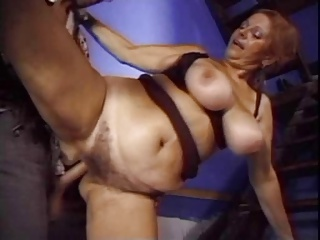 Big Titted Granny Mathilda Fucked By Dork