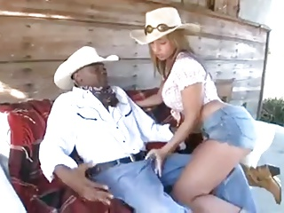Deathly guy and Cowgirl
