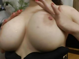 big titted Russian Girl loves the asshole of her Russian man