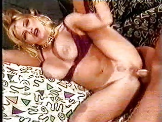 Sizzling blonde with significant tits gets fucked