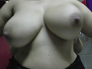 teat spanking, squeezing, slowmotion of my fat latina