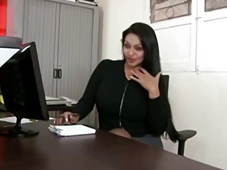 Obese butt latina office intercourse
