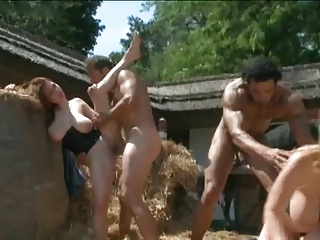 Christy Marks and Terry Nova Orgy