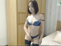 Pretty Asian cam partition undresses be useful to me