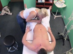 Kathy Anderson In Misspend MILF masseuse fucks doctor