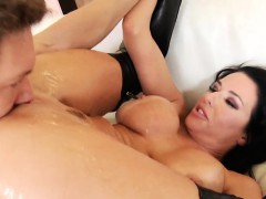 Ass plowed milf squirts