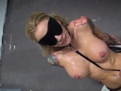 POV BJ with overshadow duplicated Milf hottie Sarah Jessie