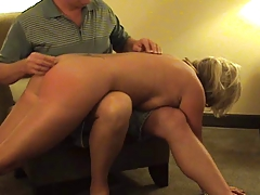 Hot Mature Blonde Punished- deep throats and