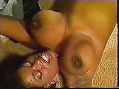 Black Ayes Juggles her Boobs