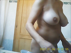 Milf nude out the showr