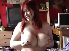 Big Jug German Redhead Woman