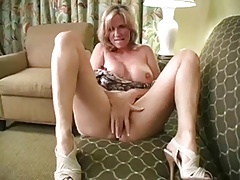 Solo #22 (Blonde MILF with Big Milk cans conversing Dirty)