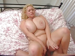 cute light-haired with big bumpers