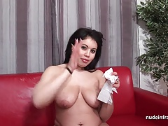 Anal casting couch  chubby french black-haired slut